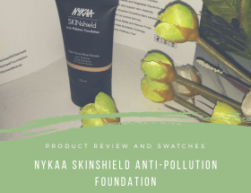 Nykaa SkinShield Anti-Pollution Foundation