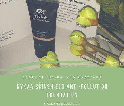 Nykaa SkinShield Anti-Pollution Foundation