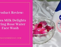 Nivea Milk Delights Caring Rose Water Face Wash