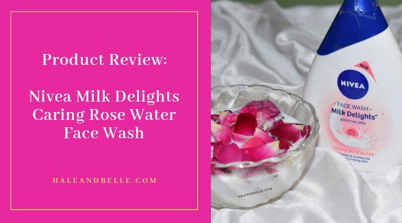 Nivea Milk Delights Caring Rose Water Face Wash