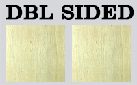 5 mm Double sided Natural Wood