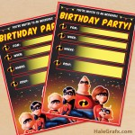 free printable power rangers party