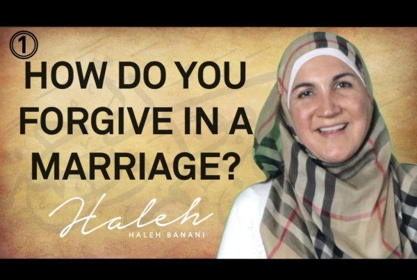 How Do You Forgive in a Marrige?