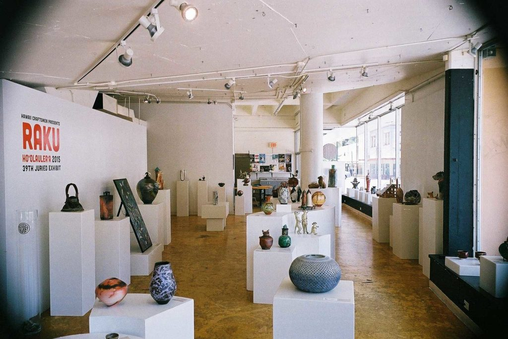 inside view of ARTS gallery at Marks Garage