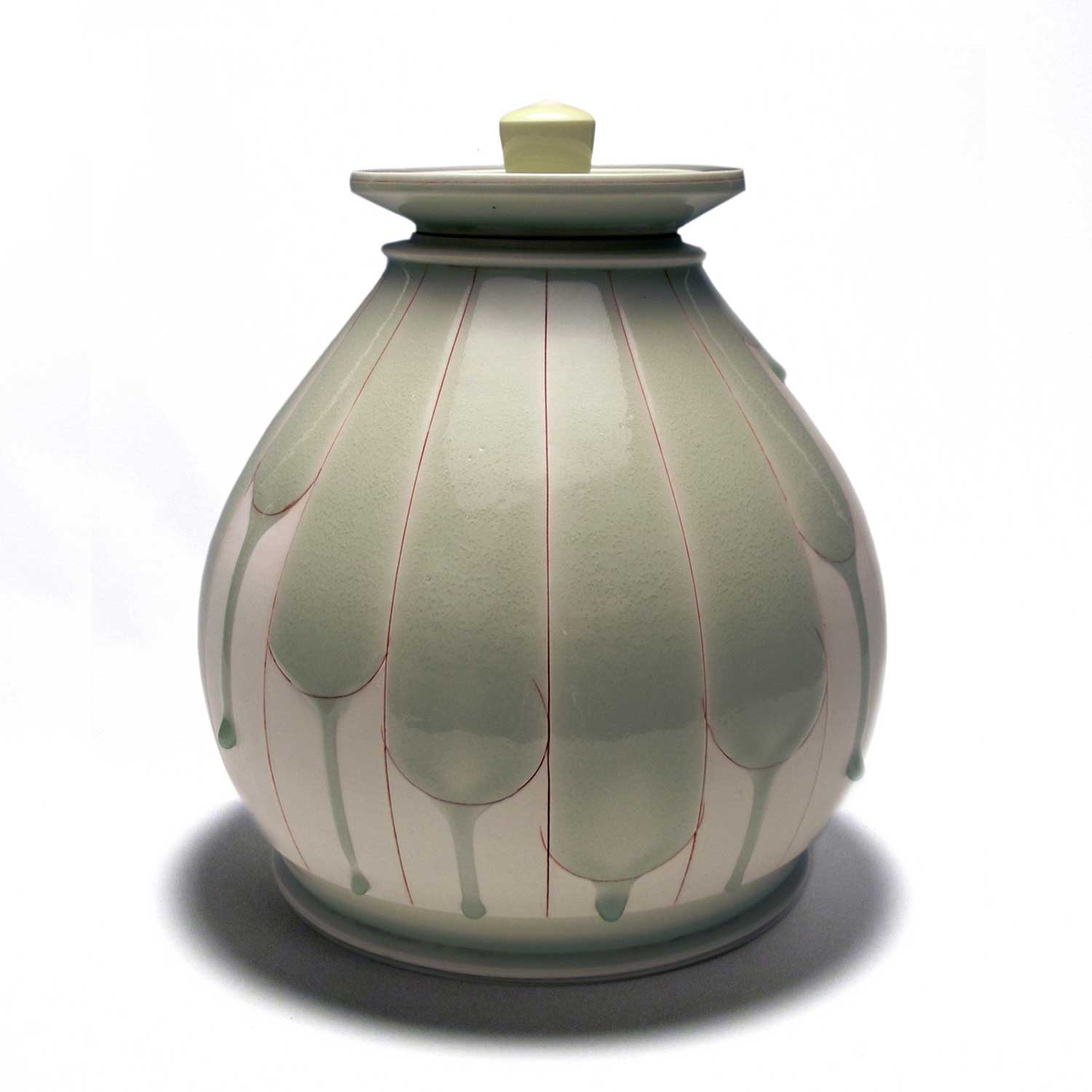 Shawn Spangler ceramic pot titled Kingdom of Koryo