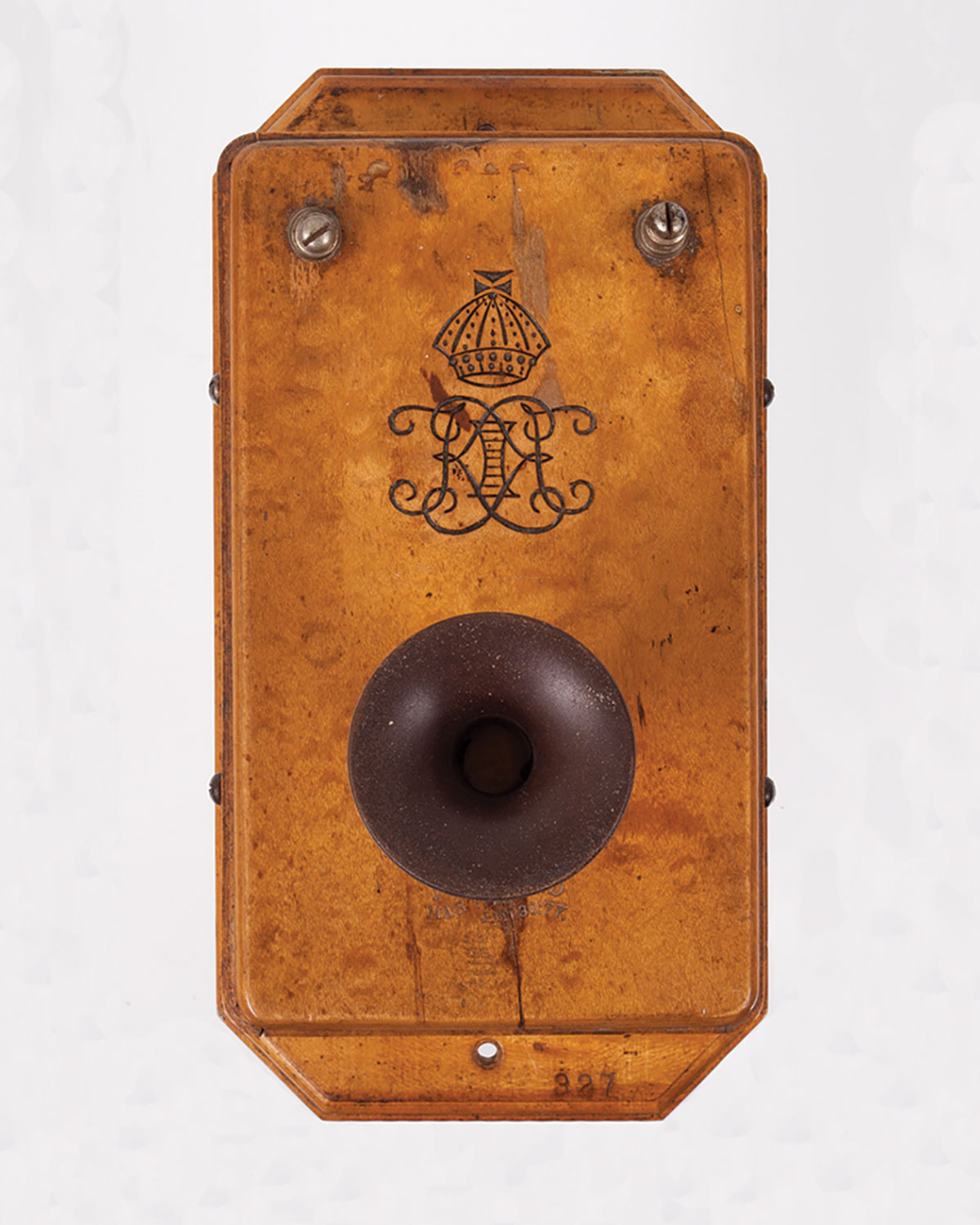 Late 19th century telephone