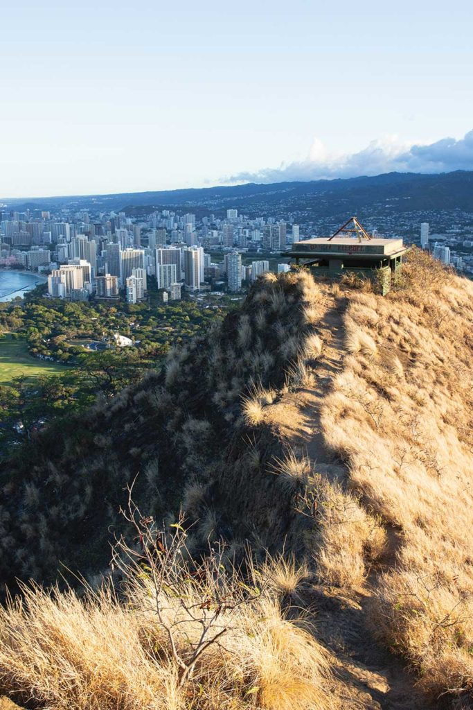 Diamond Head hiking trail