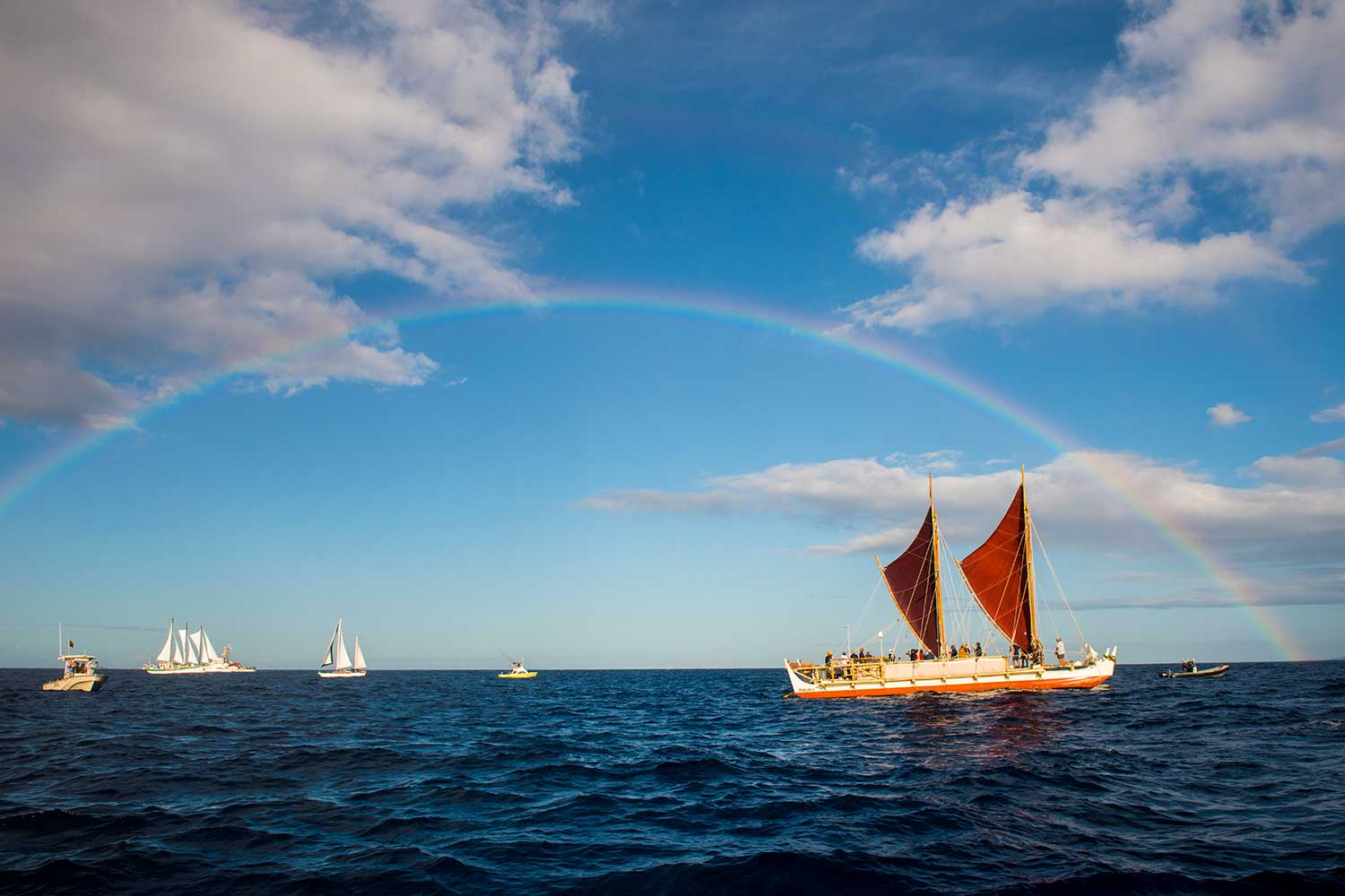 The film Moananuiākea recounts the worldwide voyage of Hōkūle'a. It's a story of oceanic adventure, indigenous resilience, and environmental activism.