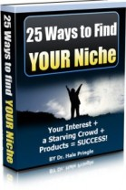 25 Ways to FInd Your Niche