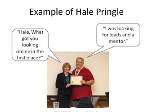 Ann Sieg and Hale - What were you looking for