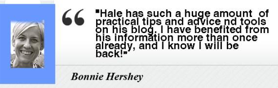 Bonnie Hershey- Testimony