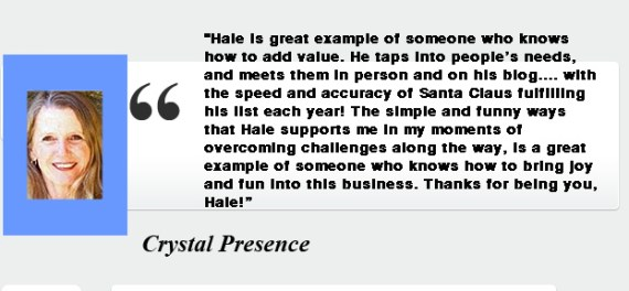 Crystal Presencer- Testimony