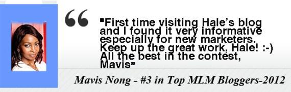 Mavis Nong- Testimony