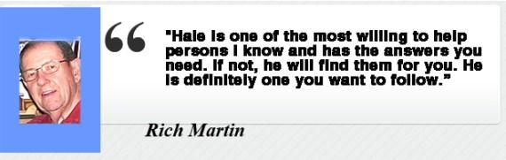 Rich Martin- Testimony