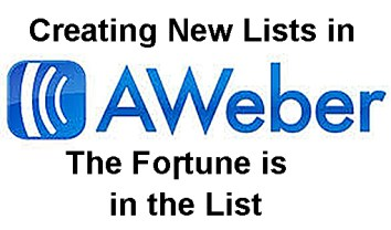 Creating Lists