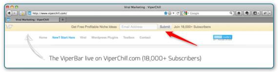 WordPress and AWeber - Viperbar