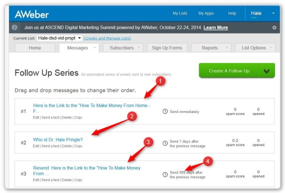 List Building With LeadPages - - Three Follow Up Emails