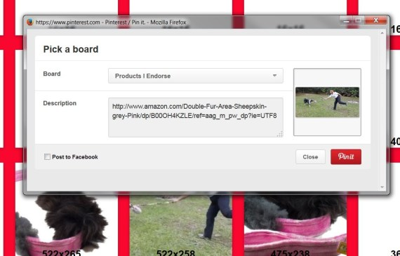 Pinterest Driving Traffic to Your listing - Second Image from a Listing