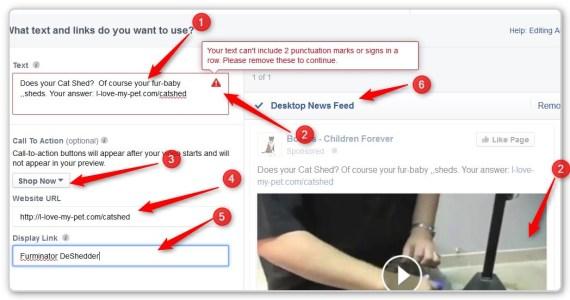 Facebook Video Ads - Dark Post - Start