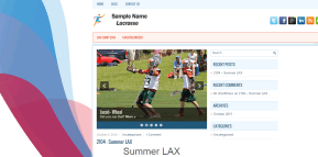 Header for Athletes Theme Post