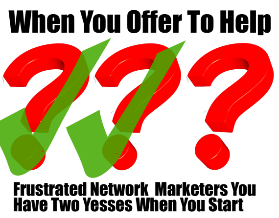Target Frustrated Network Marketers