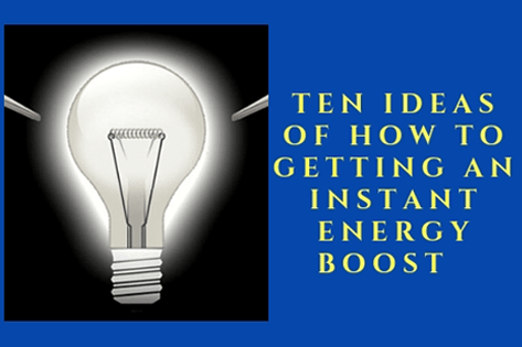 10 Ideas of How to Getting an Instant Energy Boost 1