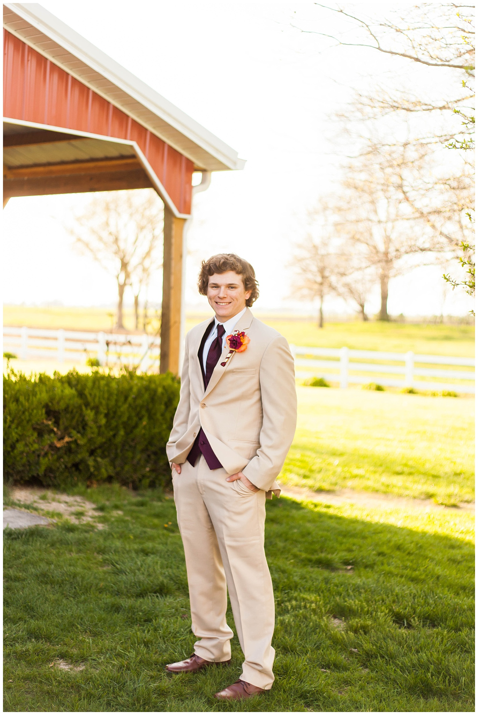 Southern Illinois Prom Pictures || Centralia IL, Crooked Creek Winery