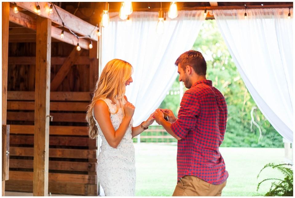 Photographer - Romantic & Rustic Barn Proposal + Engagement