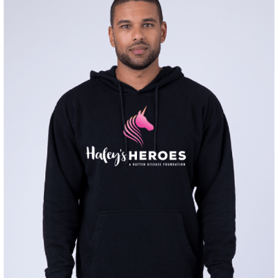 adult black hoodie