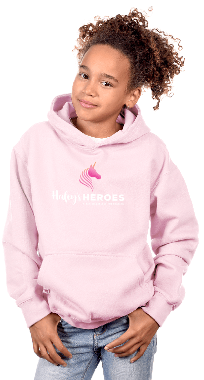 Youth Pink Hoodie