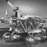 The first robot on another celestial body: the Lunokhod 1 from the Soviet Union