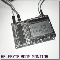 Building a WiFi based Room Monitor using an ESP8266 and an Arduino compatible