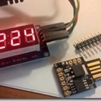 Using a 4 digit, 7 segment LED with Arduino