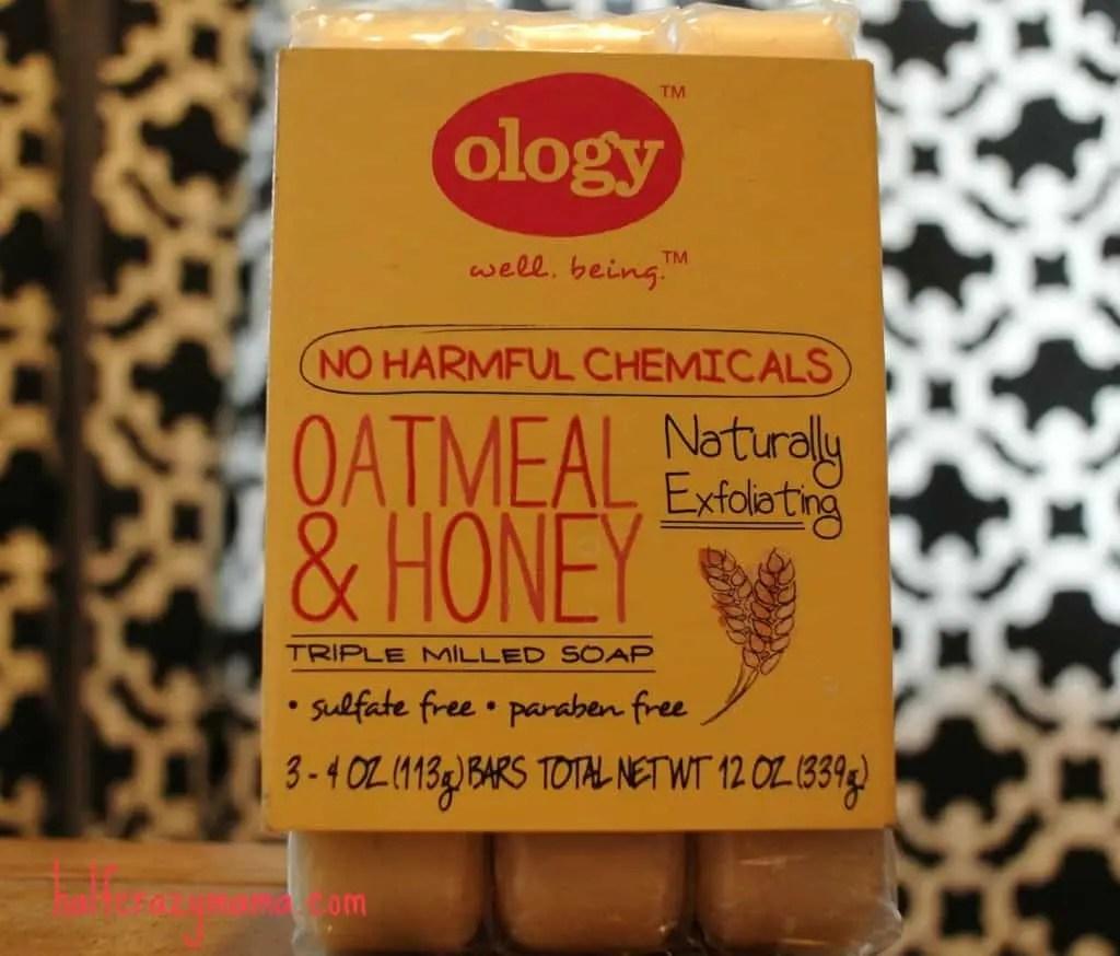 ology oatmeal &honey soap bars
