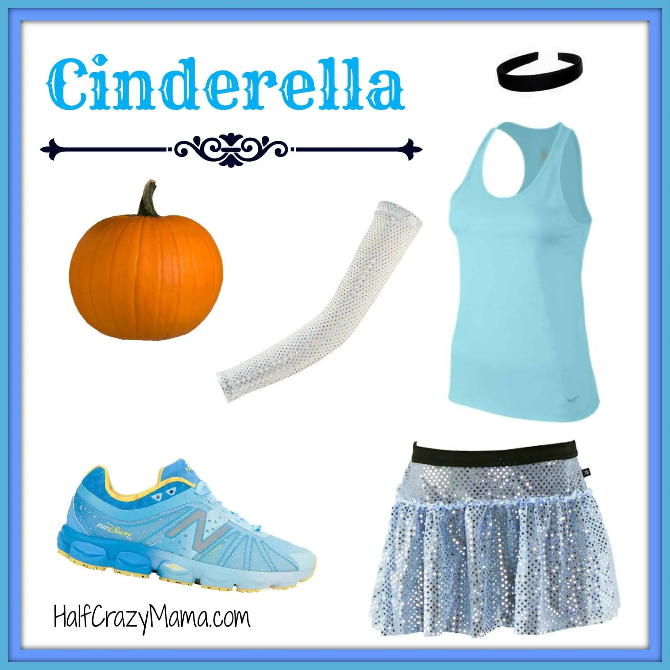 Cinderella Run Costume