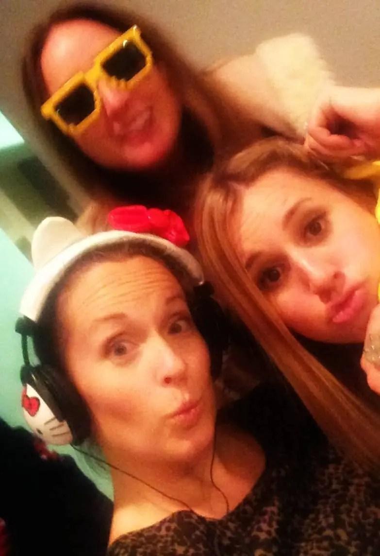 Girls Night Selfie Photo Booth style