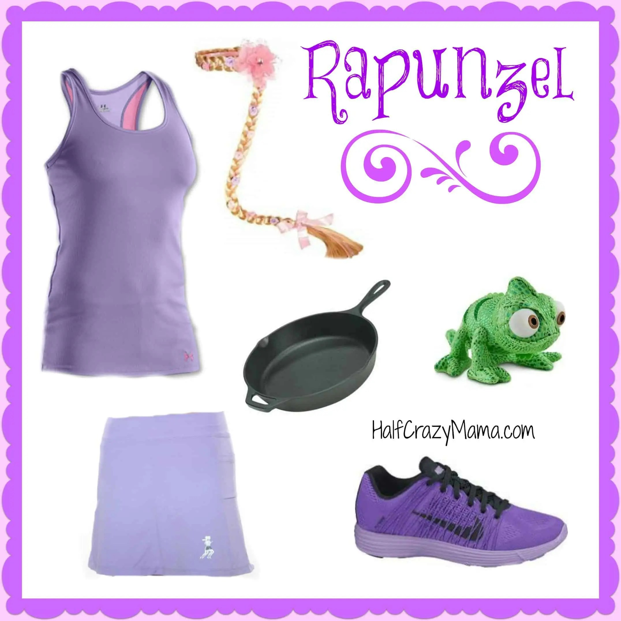 Rapunzel run costume