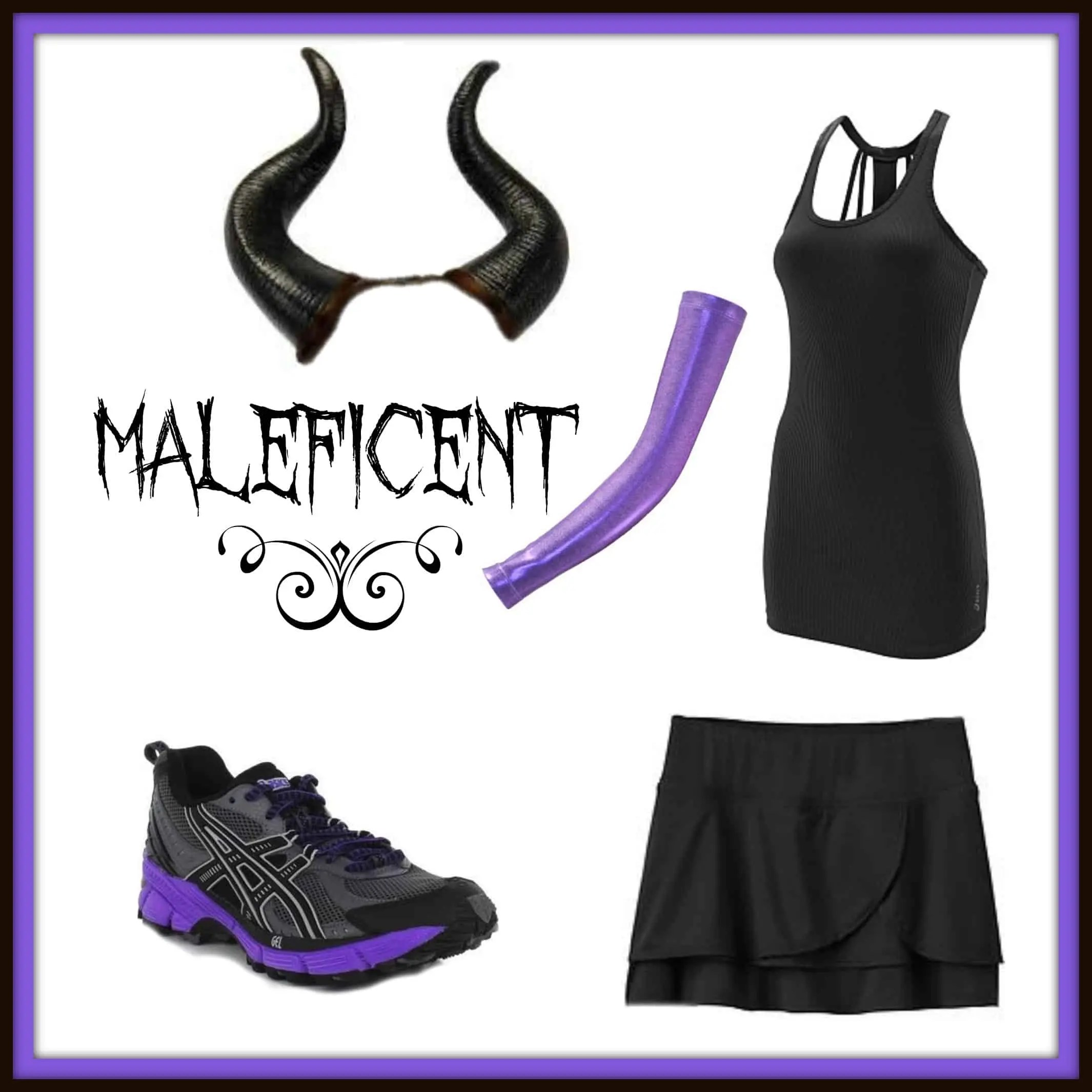Disney Villain Running Costume Ideas Maleficent Half