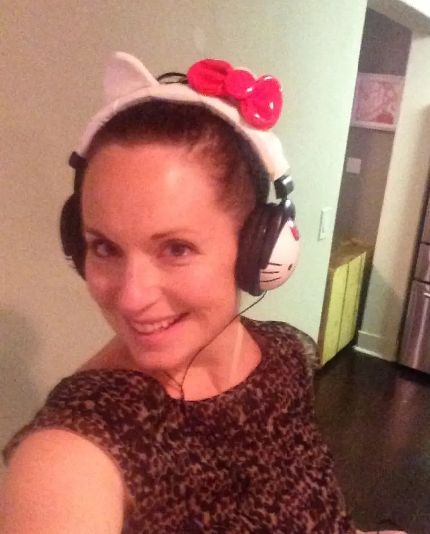 I got Hello Kitty headphones in last years gift exchange.  My daughter has now stollen them from me.