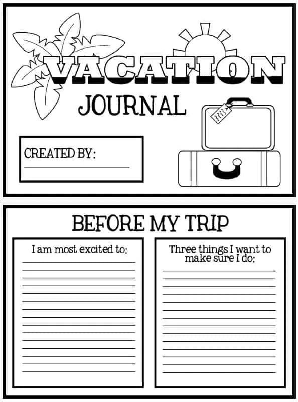 vacation_journal_printable