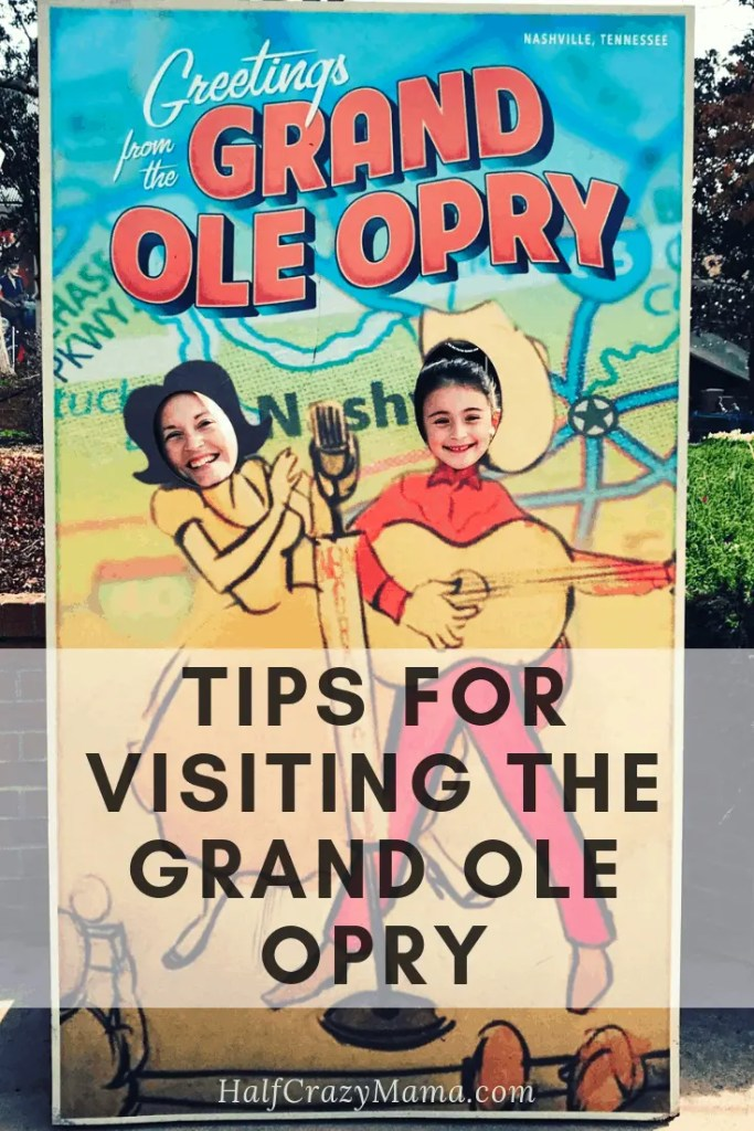 Tips for visiting the Grand Ole Opry in Nashville TN | visiting Tennessee  | old country theater