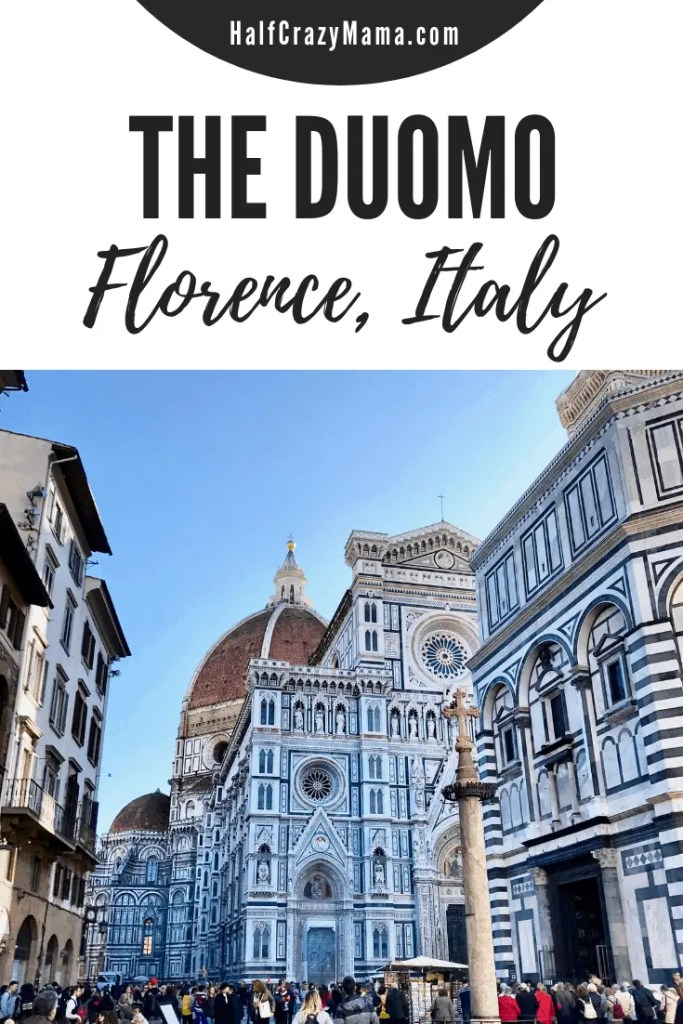 Things to do in Florence Italy.  | Florence Italy | the duomo | the big dome in Florence | tips for florence Italy