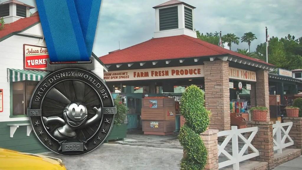 oswald Disney 5k Medal