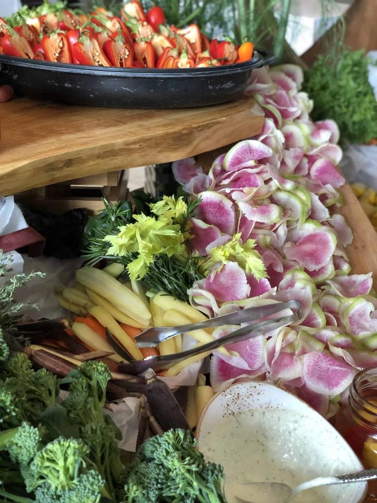 vegetable buffer