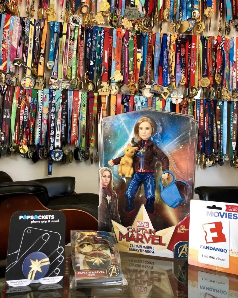 Captain Marvel Giveaway Prize Pack
