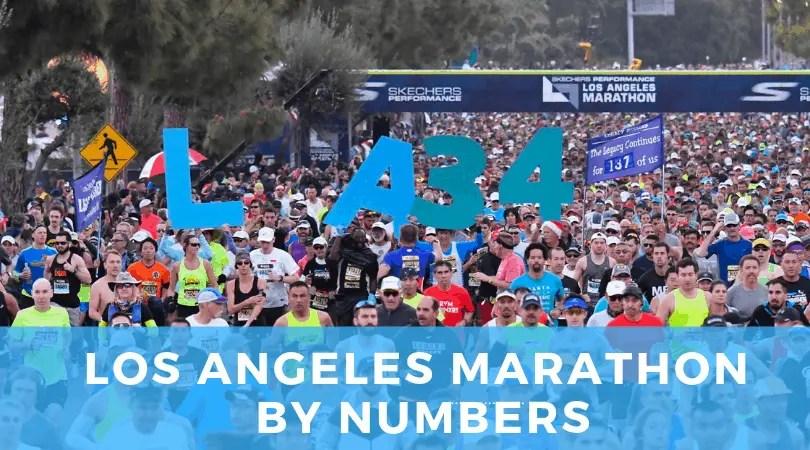 LA Marathon By Numbers
