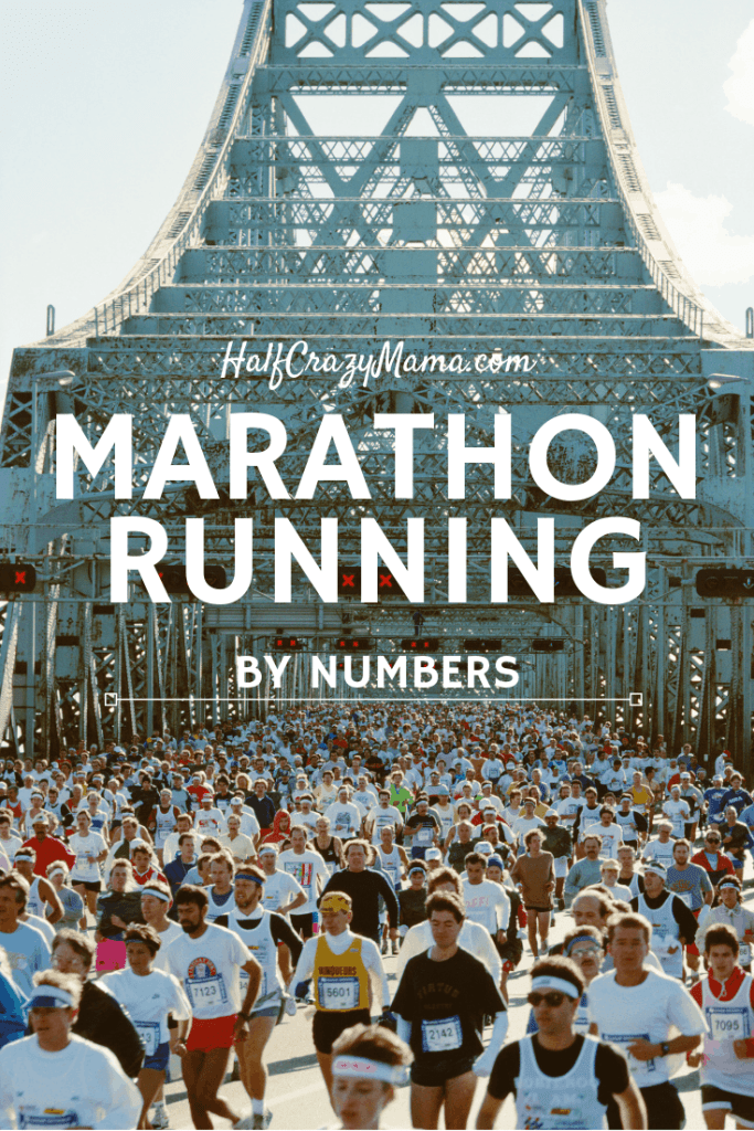 Marathon Running By Numbers