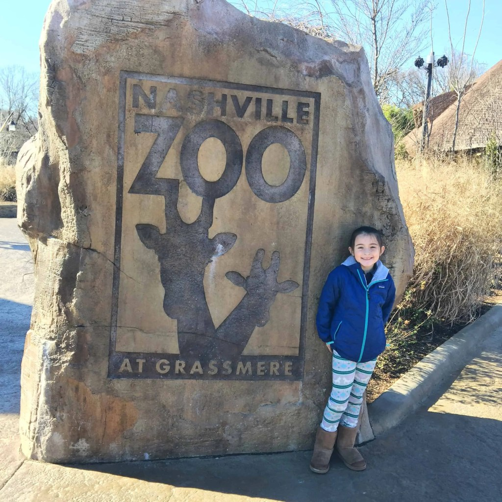 Nashville Zoo Sign