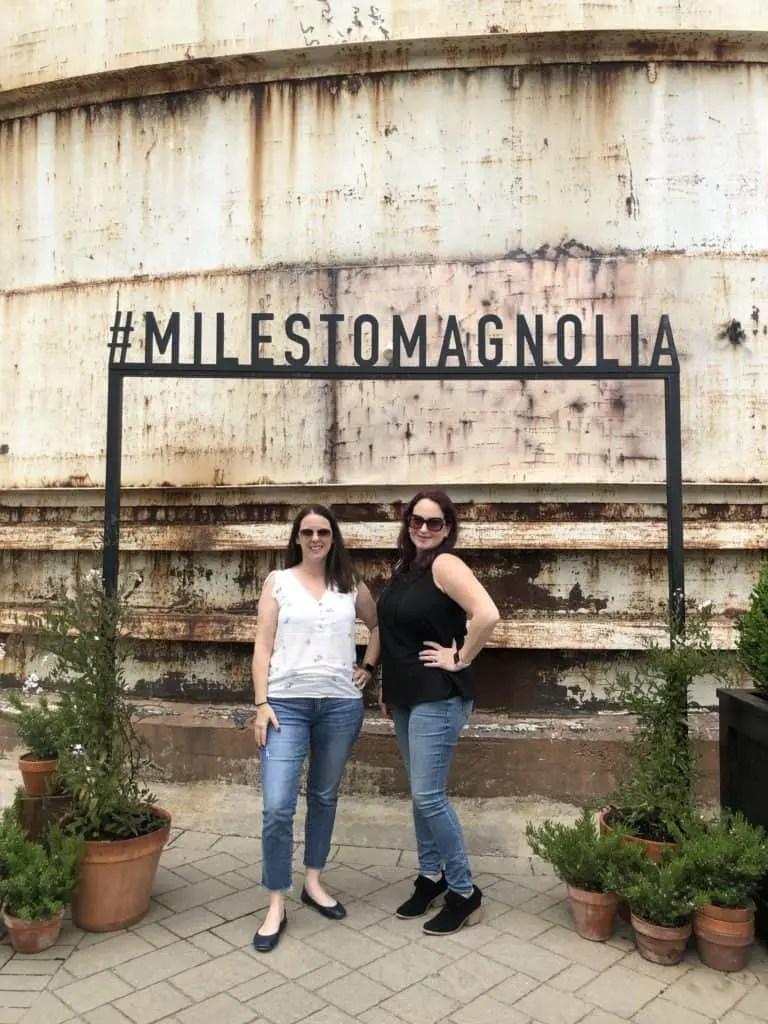 #MilesToMagnolia Sign