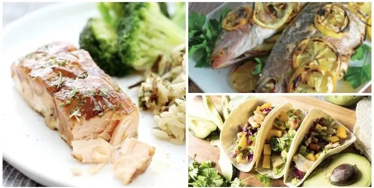 Grilled Fish Tacos, Salmon, and stuffed fish recipes
